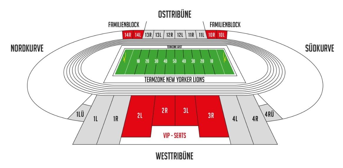 Stadion Frankfurt Sitzplan